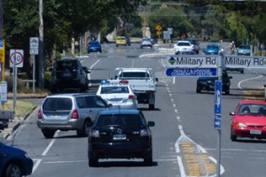 Traffic intensity in Henley Beach