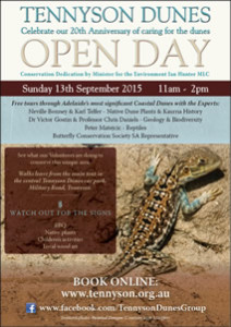 Tennyson Dunes Open Day - click to view